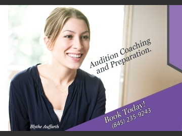 Blythe Auffarth Audition Coaching